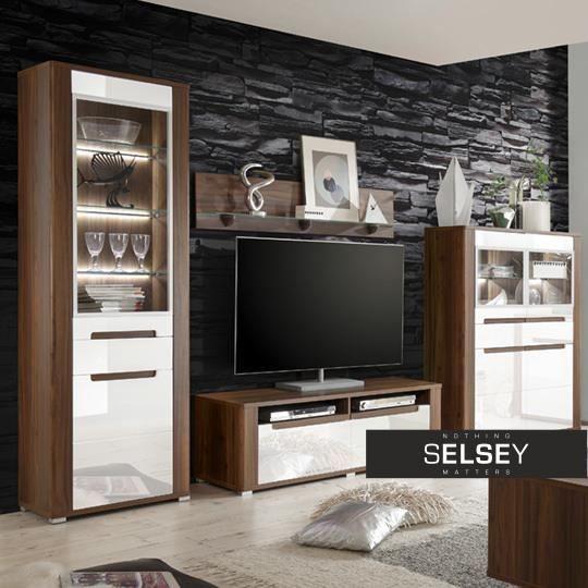 meuble tv avior 140 cm achat vente meuble tv meuble tv. Black Bedroom Furniture Sets. Home Design Ideas