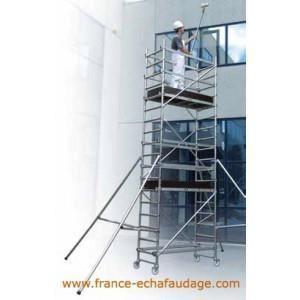 echafaudage t one 180 hauteur 1 70m plancher achat. Black Bedroom Furniture Sets. Home Design Ideas