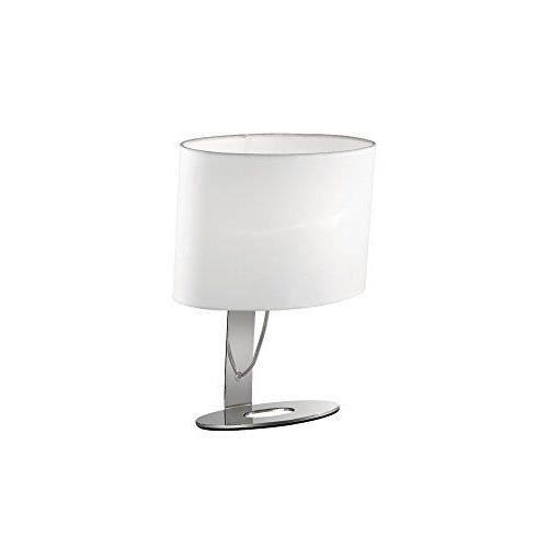 Ideal lux 074870 desiree tl1 lampe de table achat for Lampe de table classique
