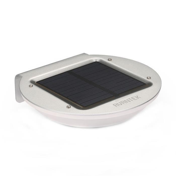 Avantek led lampe applique solaire d tecteur de mouvement for Lumiere exterieur entree