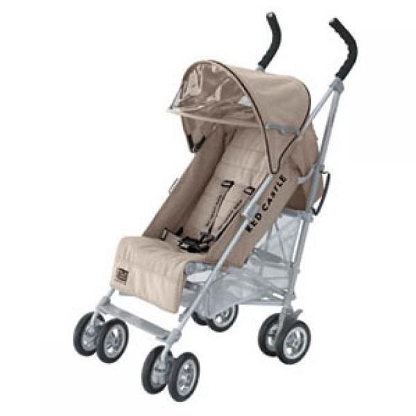 Poussette connect coloris taupe red castle achat vente poussette poussette connect cdiscount - Poussette canne dossier inclinable ...