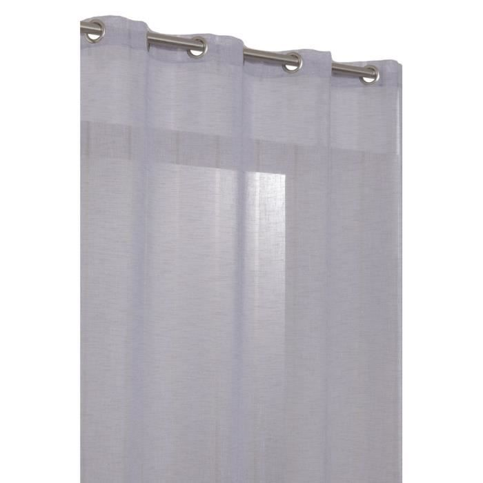rideau voilage grande hauteur en effet lin avec achat vente rideau lin cadeaux de no l. Black Bedroom Furniture Sets. Home Design Ideas