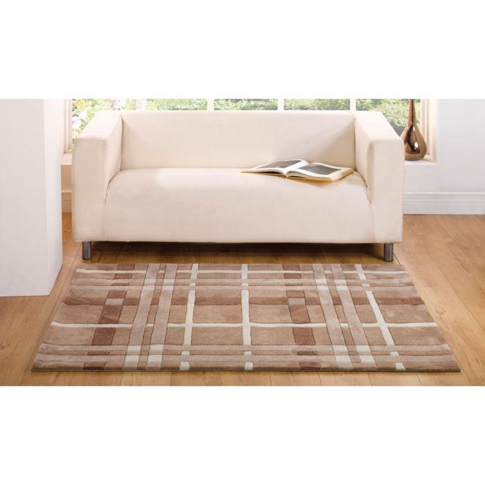 Tapis design pas cher weave natural cm 120x170 achat - Tapis maison pas cher ...