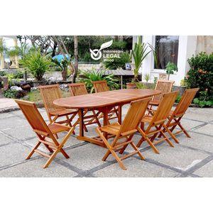 table de jardin 12 personnes achat vente table de jardin 12 personnes pas cher cdiscount. Black Bedroom Furniture Sets. Home Design Ideas