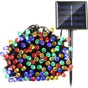 GUIRLANDE D'EXTERIEURE LYT® Solaire Guirlande lumineuse 22m 200 LEDs Mult