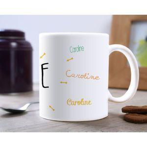 mug avec prenom achat vente mug avec prenom pas cher. Black Bedroom Furniture Sets. Home Design Ideas