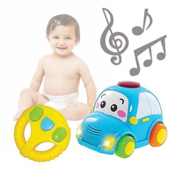voiture t l command e enfant avec sons et lumi res achat vente jeu d 39 veil ducatif voiture. Black Bedroom Furniture Sets. Home Design Ideas