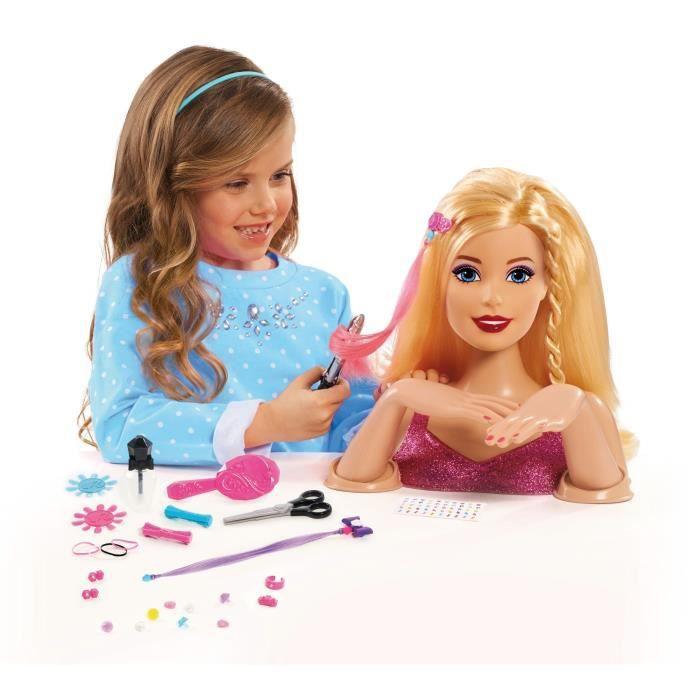 barbie t te coiffer de luxe achat vente tete. Black Bedroom Furniture Sets. Home Design Ideas