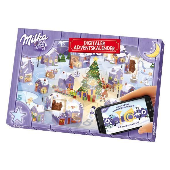 Milka num rique calendrier de l 39 avent chocolat 200g achat vente calen - Achat noel paiement differe ...