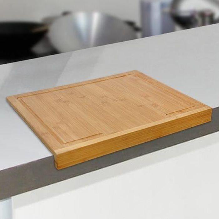 planche d couper en bambou pour plan de travail achat vente planche a d couper planche. Black Bedroom Furniture Sets. Home Design Ideas