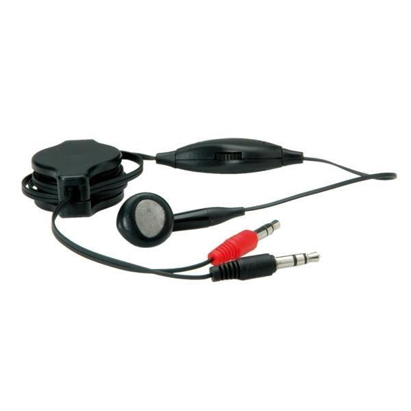 value casque r glage du volume noir casque couteur audio avis et prix pas. Black Bedroom Furniture Sets. Home Design Ideas