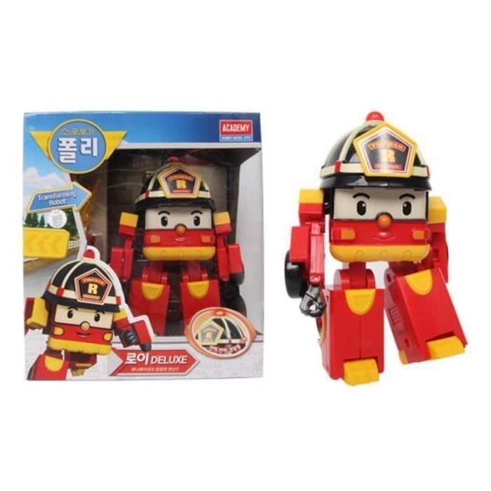 Robocar poli roy transformers robot achat vente robot - Robocar poli pompier ...