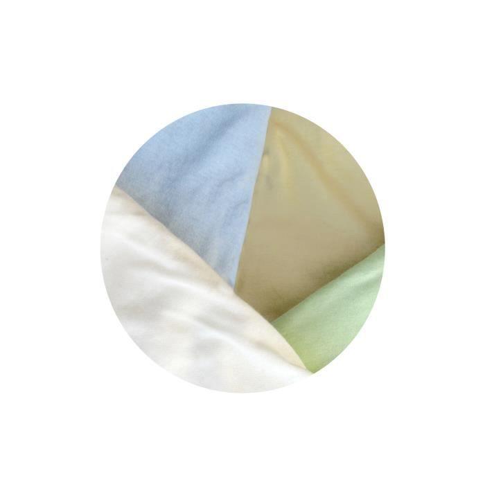 Lot de 4 draps housse pour berceau b b 80 cm x 40 blanc for Drap housse pour berceau