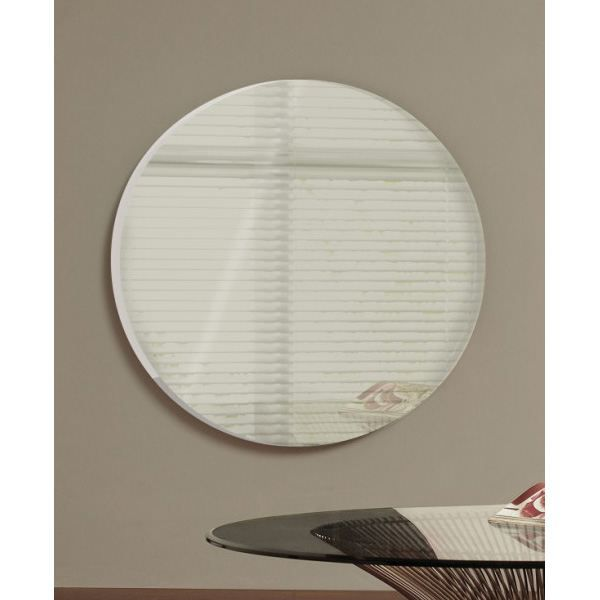 Cheminee electrique miroir circulaire living art achat - Cheminee circulaire ...