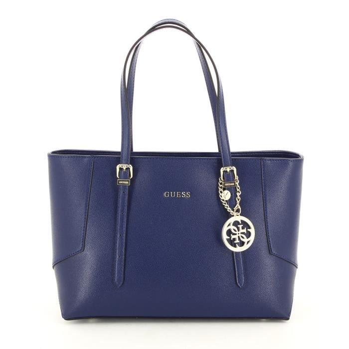 Sac guess blanc bleu : Guess sac cabas isabeau hwisab p bleu achat