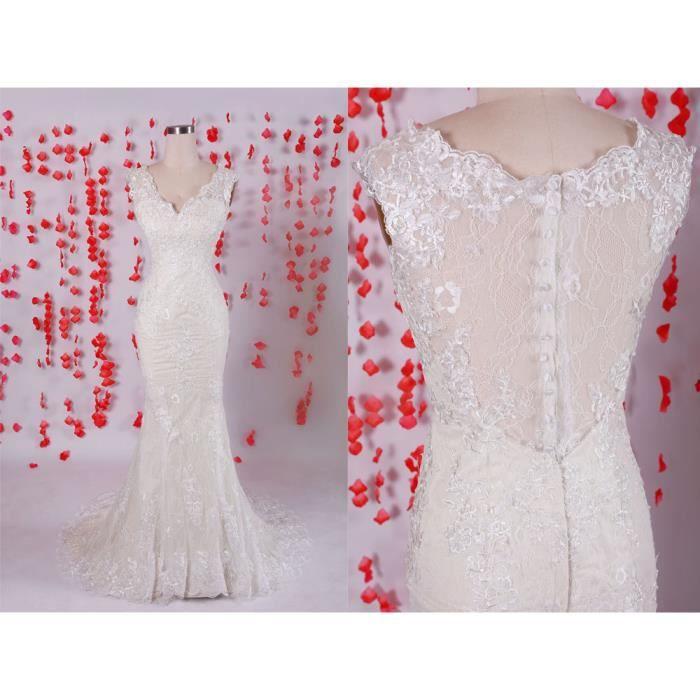 robes de soir e blanche robe de bal en dentelle robe de soir e col v l gante robe de sir ne. Black Bedroom Furniture Sets. Home Design Ideas