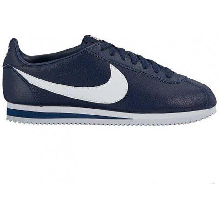 Nike Cortez Cuir Gris