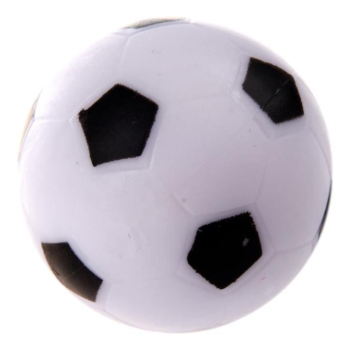 petit football baby foot en plastique dure balle table homo logue jeu jouet enfant noir blanc. Black Bedroom Furniture Sets. Home Design Ideas