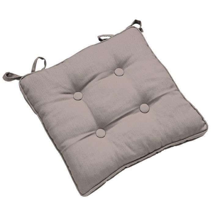 Galette de chaise paisse nouettes galette grise de - Galette de chaise epaisse ...