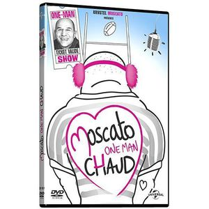DVD SPECTACLE DVD Vincent Moscato, one man chaud