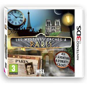 JEU 3DS Les Mystères cachés à Paris