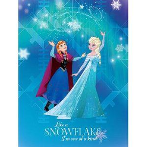 Disney la reine de neige tapis chambre enfants 80x120 cm achat vente objet d coratif Tapis reine des neiges