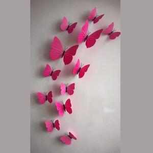stickers papillon achat vente stickers papillon pas cher soldes cdiscount. Black Bedroom Furniture Sets. Home Design Ideas