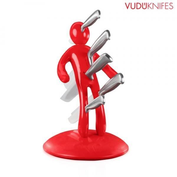 set couteaux porte couteaux vud knifes achat vente. Black Bedroom Furniture Sets. Home Design Ideas