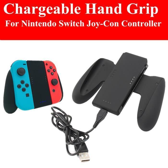 tempsa chargeur manette support noir pour nintendo switch achat vente chargeur console. Black Bedroom Furniture Sets. Home Design Ideas