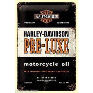 Deco plaques fer ou plaque emaillee  Plaque-publicitaire-harley-davidson-30x20cm-tol