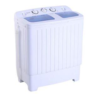 LAVE-VITRE ÉLECTRIQUE MINI machine à laver 4,5 kg Essoreuse Lave-linge d