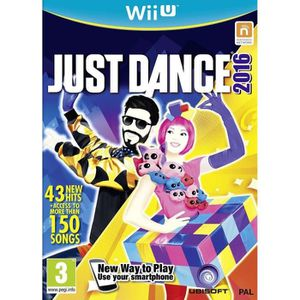 JEUX WII U Just Dance 2016 Unlimited