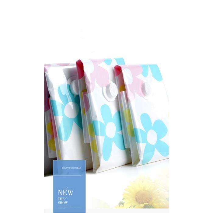 5 sacs sous vide syst me de sacs de rangement gain de place allant jusqu 39 75 fleur achat. Black Bedroom Furniture Sets. Home Design Ideas