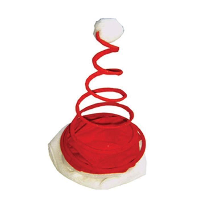 Bonnet de no l ressort achat vente chapeau perruque - Vente de cadeaux de noel ...
