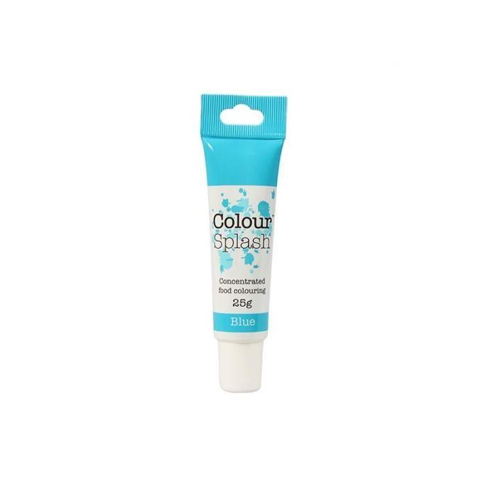 colorant alimentaire tube de colorant alimentaire en gel bleu - Colorant Alimentaire Bleu Turquoise