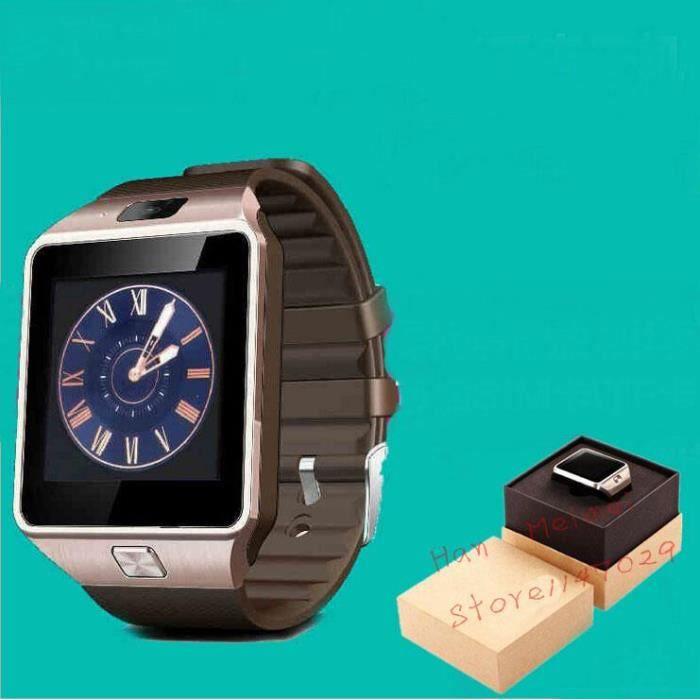 dz09 bluetooth montre intelligente pour apple samsung ios android assistance t l phonique. Black Bedroom Furniture Sets. Home Design Ideas