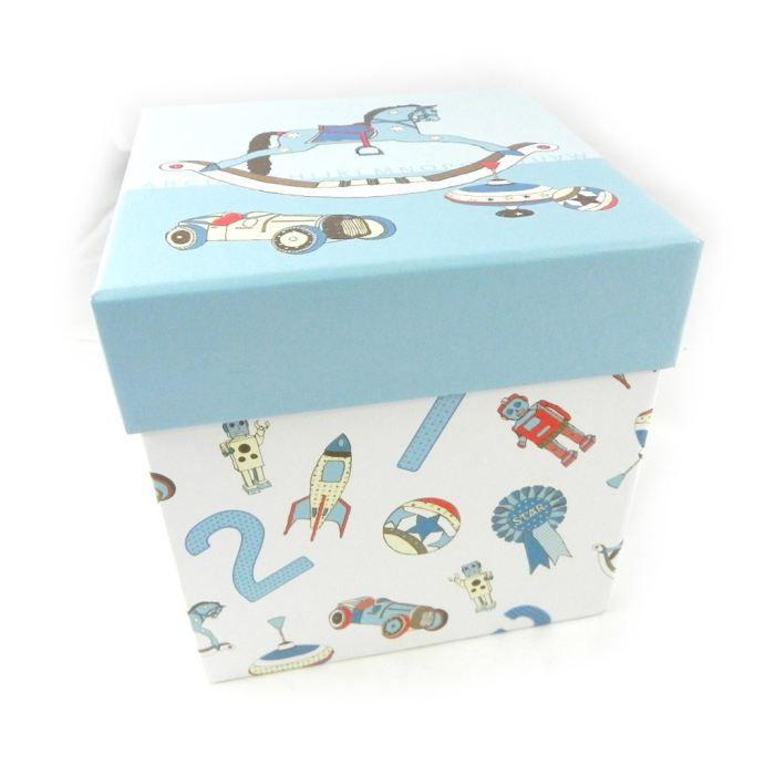Bo te de rangement jeux d 39 enfants bleu achat vente boite de rangement cdiscount Rangement jeux enfant