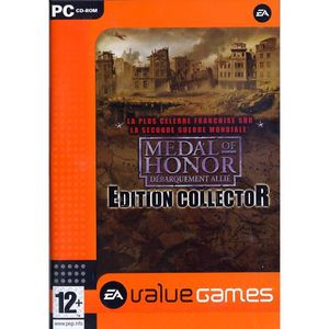 JEU PC MEDAL OF HONOR COLLECTOR VALUE GAMES / JEU PC DVD-