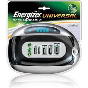 CHARGEUR DE PILES ENERGIZER Chargeur universel