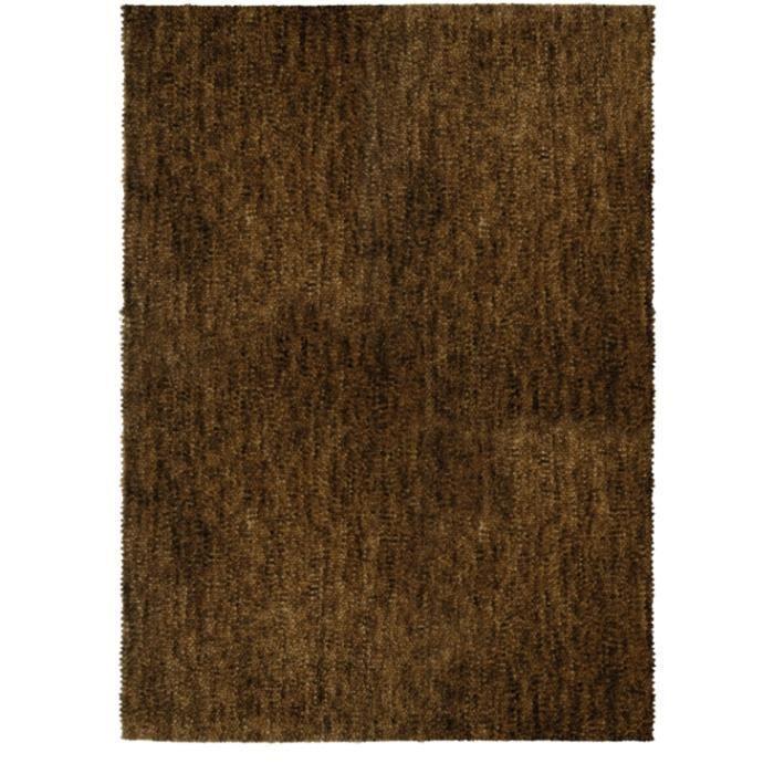 tapis salon marron 140x200cm 100 laine vierge achat. Black Bedroom Furniture Sets. Home Design Ideas