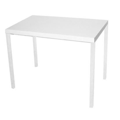 Table a manger blanche achat vente table a manger for Table a manger blanche