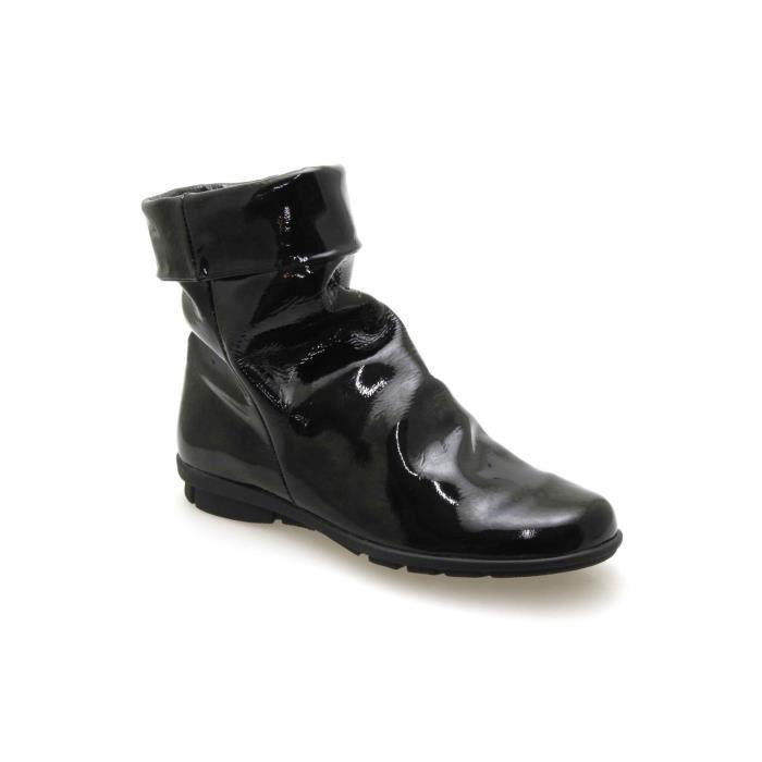 boots spiffy 9240 vernis noir vernis noir achat. Black Bedroom Furniture Sets. Home Design Ideas
