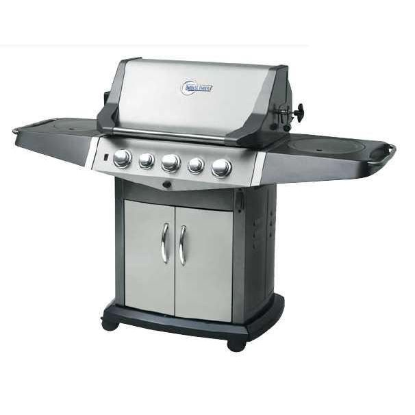 barbecue en inox 5 feux avec r tissoire achat vente barbecue barbecue en inox 5 feux cdiscount. Black Bedroom Furniture Sets. Home Design Ideas