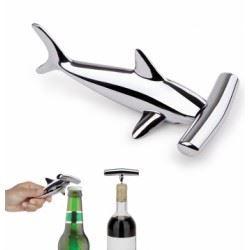 tire bouchon d capsuleur requin marteau chrom achat vente tire bouchon tire bouchon. Black Bedroom Furniture Sets. Home Design Ideas