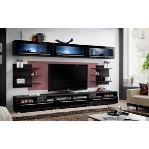Mur tv design achat vente mur tv design pas cher for Meuble de salon complet