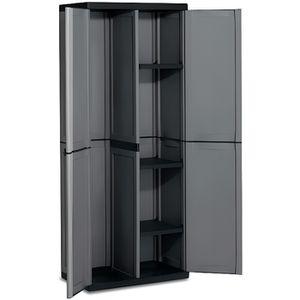 armoire a balai achat vente armoire a balai pas cher cdiscount. Black Bedroom Furniture Sets. Home Design Ideas
