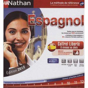 LOGICIEL LOISIRS Nathan Espagnol - Coffret liberté Edition 2010 -