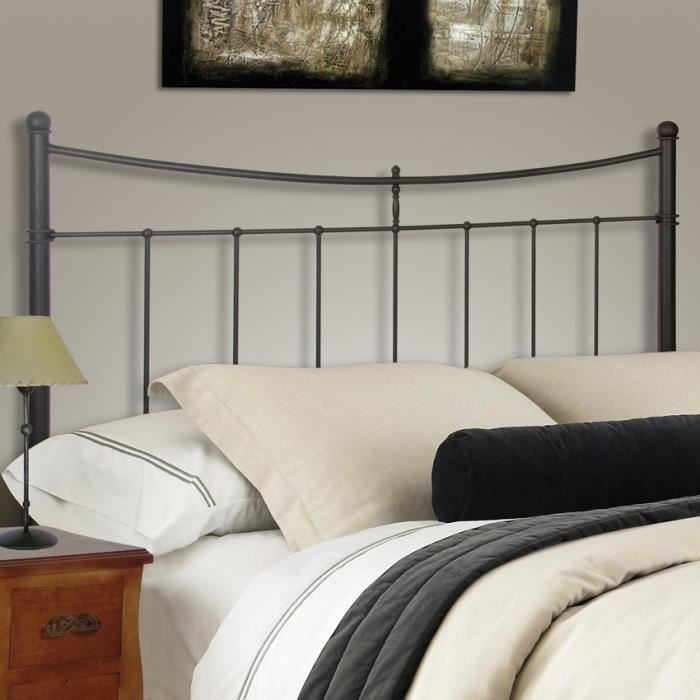 t te de lit en fer forg collection liberty achat. Black Bedroom Furniture Sets. Home Design Ideas