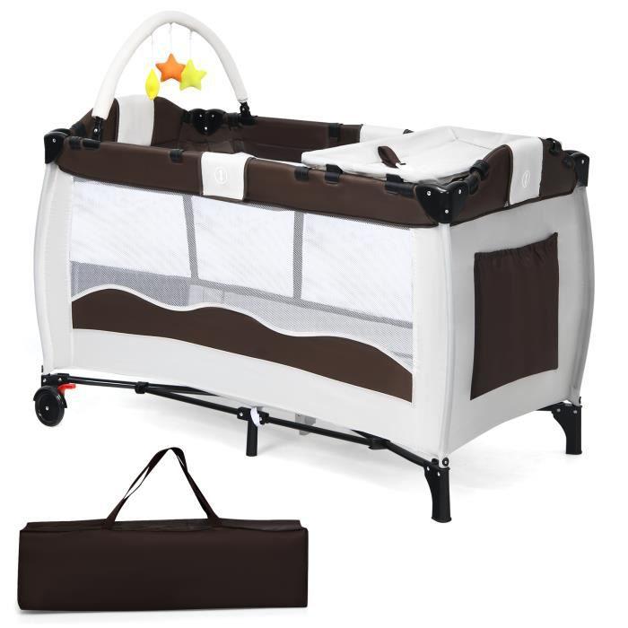 lit de bb avec table langer intgre trendy armoire avec. Black Bedroom Furniture Sets. Home Design Ideas
