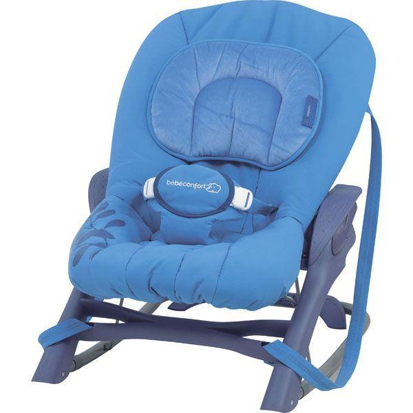 transat balancelle bebe confort evolution 2 bleu achat. Black Bedroom Furniture Sets. Home Design Ideas